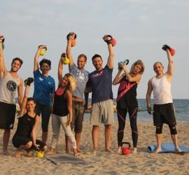 CrossFit Mandelieu Xfit Training Beach WOD format 1Mo