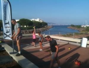 Xfit Training WOD CrossFit Mandelieu Cannes outdoor 2